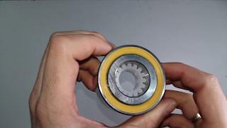 Подшипник к стиральной машине Ariston 633667 SKF двухрядный от компании PROFF SERVICE - видео