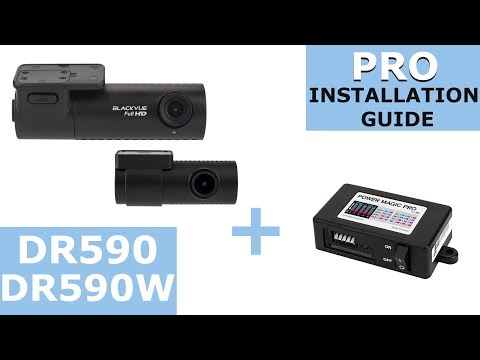 BlackVue DR590/DR590W Series and Power Magic Pro Installation