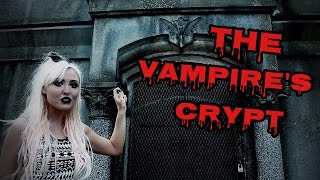 THE VAMPIRE'S CRYPT OF ERIE CEMETERY!   SPIRIT BOX SESSION