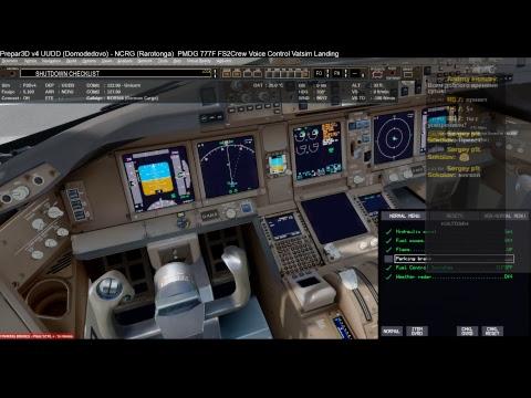 Flying from Amsterdam to Buenos Aires - PMDG 777 Prepar3d V4
