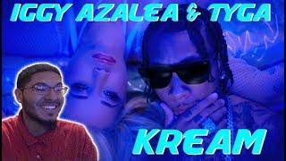 Iggy Azalea - Kream ft. Tyga | REACTION
