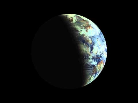 May 10, 2013 solar eclipse from Russian satellite Elektro-L