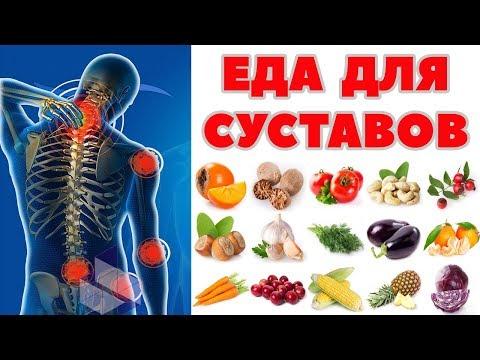 Полезные продукты для суставов !!! ТОП-7 продуктов для восстановления суставов и хрящей.