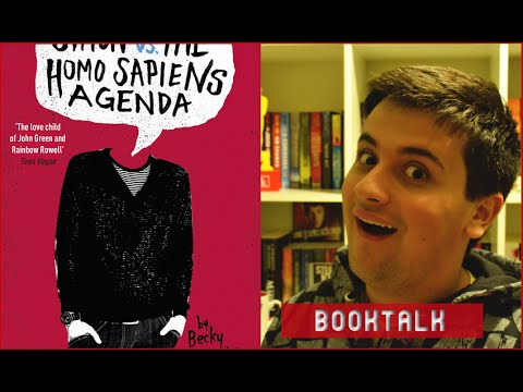 BOOKTALK: SIMON VS THE HOMO SAPIENS AGENDA | Geek's Anatomy