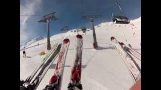 preview picture of video 'Lyžování v Alpách - Skiing in Austria - Sölden 2013'