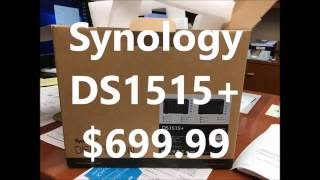 Synology DS1515+ unboxing, memory upgrade, and initial setup
