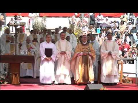 Célébration solennelle de béatification de soeur Marguerite Rutan