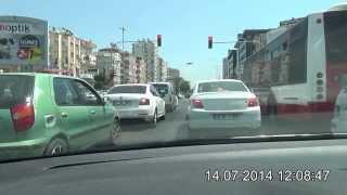 preview picture of video 'Antalya Arapsuyu - Konyaaltı Atatürk Bulvarı Yolu'
