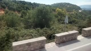 Греция, Метеоры. Дорога в монастыри.