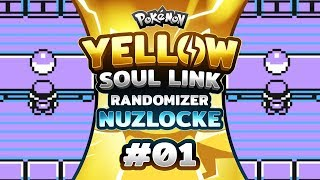 Pokemon Yellow Soul Link - EP01 | The Journey Begins!