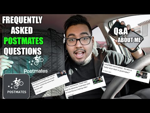 My Frequently Asked Questions About Delivering With Postmates! How Much Gas Do I use? Q&A About Me