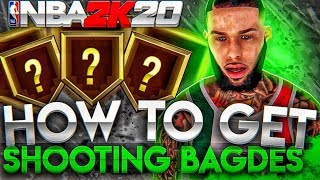 *NEW* BEST WAY TO GET EVERY SHOOTING BADGE FAST IN NBA 2K20!! • GET ALL BADGES IN ONE DAY!!