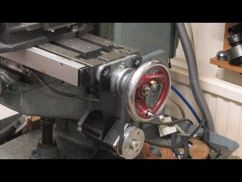 DIY Power Feed for Milling Machine. Part 2