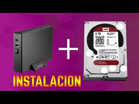 Instalacion de disco duro en caja externa