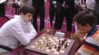 Carlsen-Karjakin, World Blitz Championship 2012