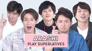ARASHI Reveals Who is Most Likely to Forget a Lyric, the Best Dancer, and More | Superlatives
