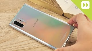 Official Samsung Galaxy Note 10 Clear Case Review