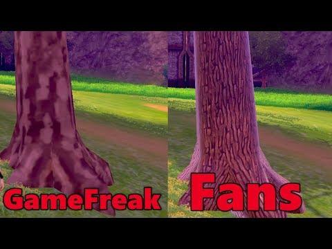 Fans FIX the TREES! | Pokemon Sword & Shield
