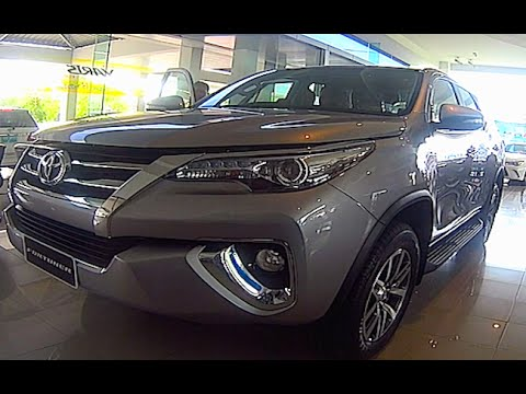 Toyota Fortuner 2015, 2016 Video review New Generation