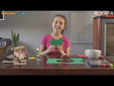 Domowy Dom Kultury z ROK Zator ŻABKA Z PAPIERU