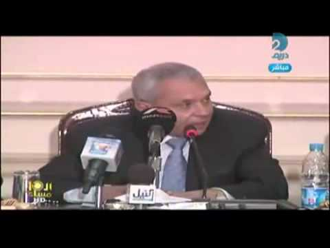 Cairo University President Prof Hossam Kamel talks about University guards
