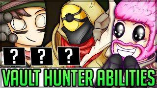 All New Vault Hunter Abilities - Borderlands 3! (Amara FL4K Zane Moze Abilities Breakdown + Theory)