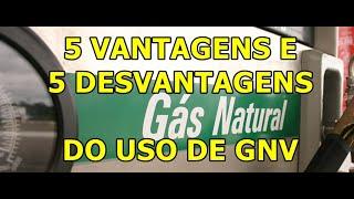 5 Vantagens e Desvantagens do Uso do Gás Natural (Kit GNV)