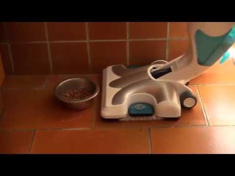 Rowenta RY7557WH Clean & Steam e Rowenta RY7535 (nero) - Uso su pavimenti (recensione)