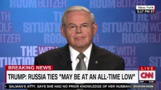 Sen. Menendez Speaks to Wolf Blitzer on NATO, Syria, Russia & Chinese Currency Manipulation