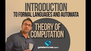 Theory of Computation 01 Introduction to Formal Languages and Automata