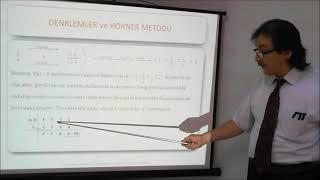 Matematik 1 – 2.Hafta