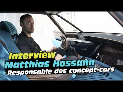 Peugeot e-Legend Concept : interview du responsable des concepts-car