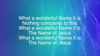 What A Beautiful Name (Lyric Video)  Hillsong Worship