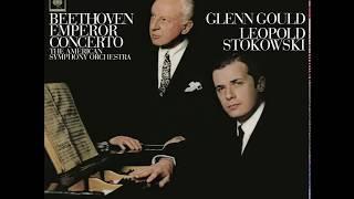 Beethoven Piano Concerto No. 5 – Glenn Gould, American Symphony Orchestra, Stokowski (1966/2015)