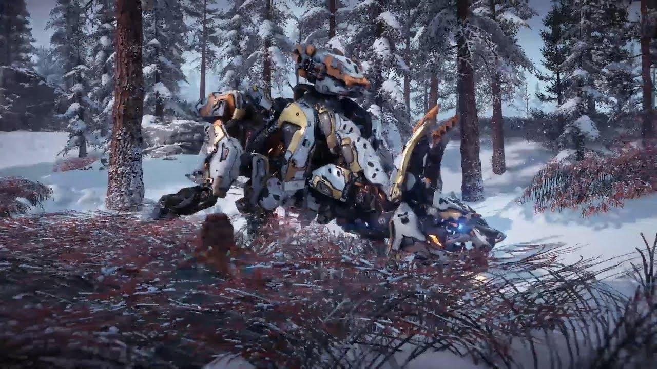 「凍てついた大地」機械紹介映像 スコーチャーを再生する