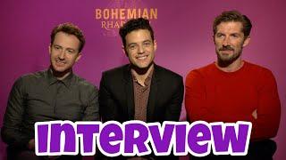 Interview: Cast of BOHEMIAN RHAPSODY