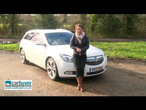 Vauxhall Insignia Sports Tourer estate 2013 review - CarBuyer