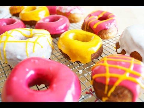 Donuts caseros fácil  y glaseado para Donuts