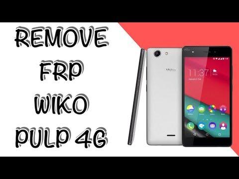 Wiko plup 4g frp remove - смотреть онлайн на Hah Life