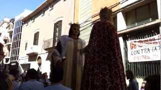 preview picture of video 'Dia del Geganter Vilafranca del Penedès - Gegants de Vilafranca'