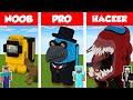 Minecraft NOOB vs PRO vs HACKER AMONG U