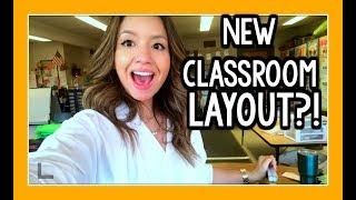New Classroom Layout!   Teacher Vlog Ep. 34