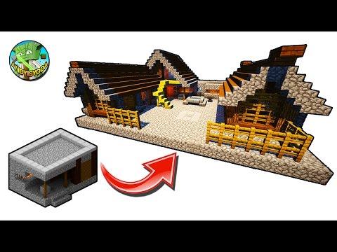 minecraft blacksmith village transform