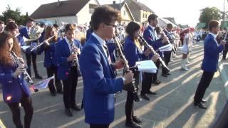 preview picture of video 'XI Europarada Suchowola 2013 - Przywitanie orkiestr.'