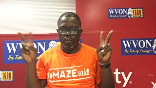 Watch The WVON morning Show...Today, the Illinois Black Chamber of Commerce!