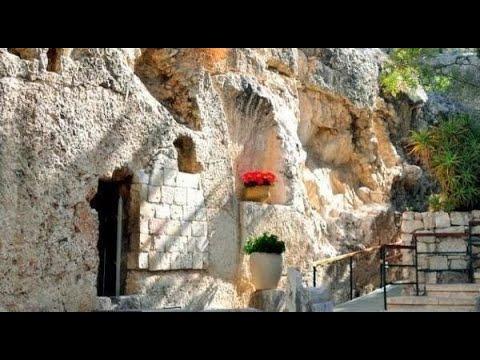 Graf van Jezus en de mooie tuin