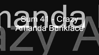 Sum 41 - Crazy Amanda Bunkface (with lyrics)