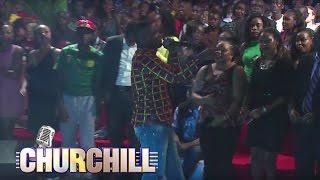 Sudi Boy Performs Naona Bado on Churchill Show