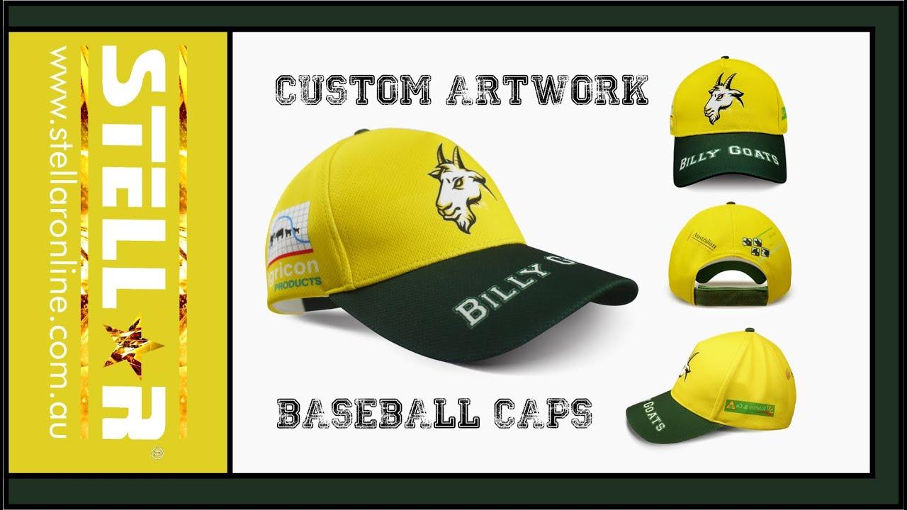 Baseball Cap – Custom Designed to your Artwork specifications