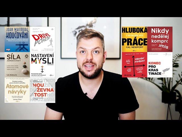 Jakých 10 knih osobního rozvoje mě nejvíce posunulo? + DÁREK